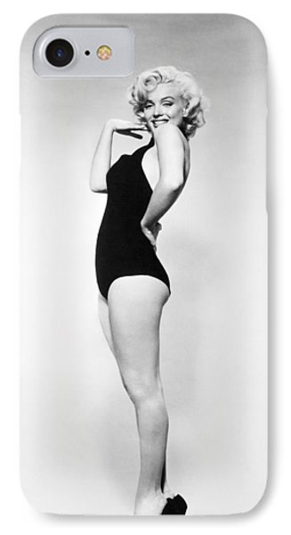 Marilyn Monroe (1926-1962) Phone Case by Granger
