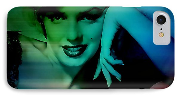 Marilyn Monroe IPhone Case by Marvin Blaine