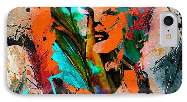 Marilyn Monroe Painting IPhone Case