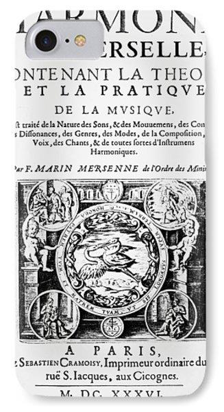 Marin Mersenne (1588-1648) IPhone Case by Granger