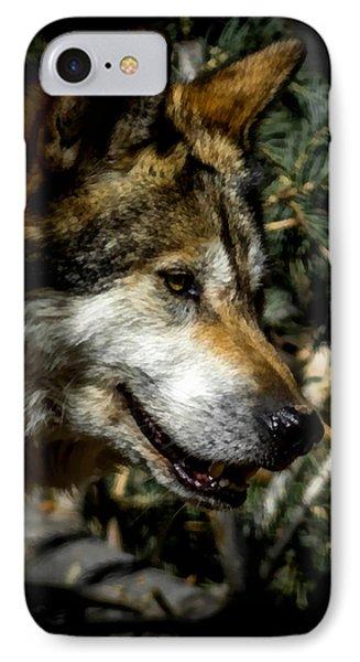 Mexican Grey Wolf Phone Case by Ernie Echols