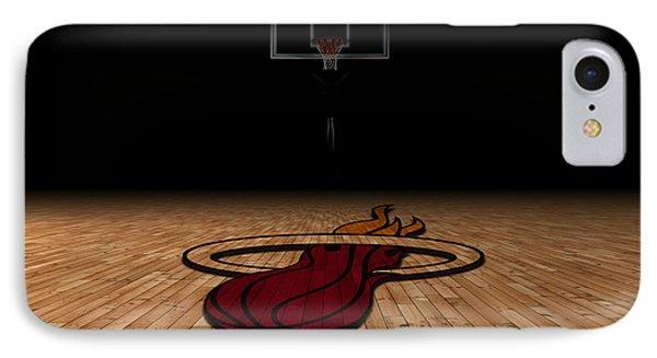 Miami Heat IPhone Case by Joe Hamilton