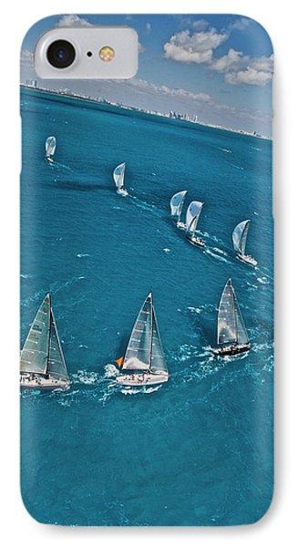 Miami Regatta Aerial IPhone Case