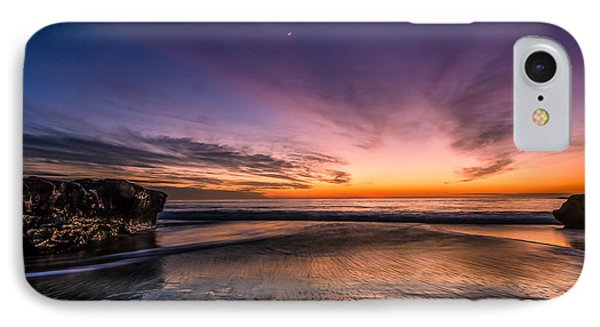 4 Mile Beach Sunset IPhone Case by Linda Villers