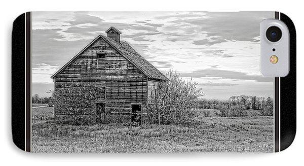 Missouri Barn At Sunrise IPhone Case by Charles Feagans