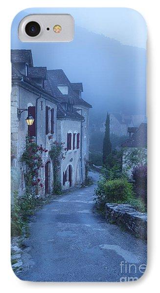 Misty Dawn In Saint Cirq Lapopie Phone Case by Brian Jannsen