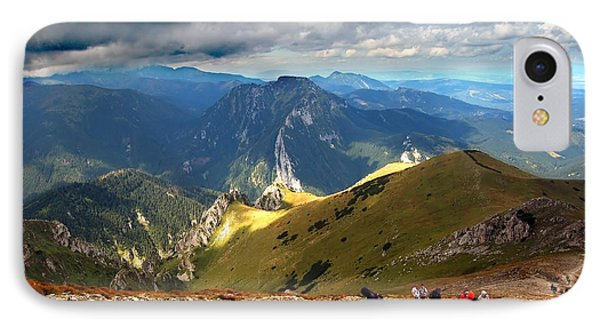 Mountains Stormy Landscape Phone Case by Michal Bednarek