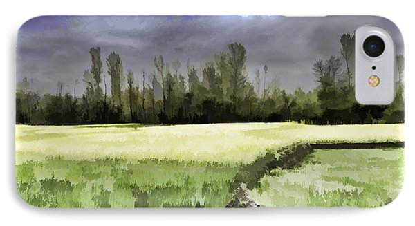 Mustard Fields In Kashmir IPhone Case by Ashish Agarwal