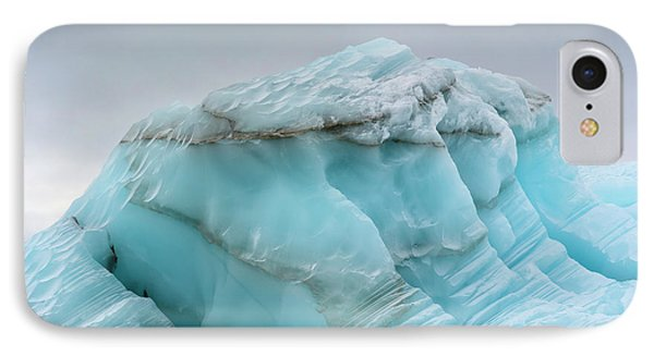 Norway Svalbard Nordaustlandet Island IPhone Case by Inger Hogstrom