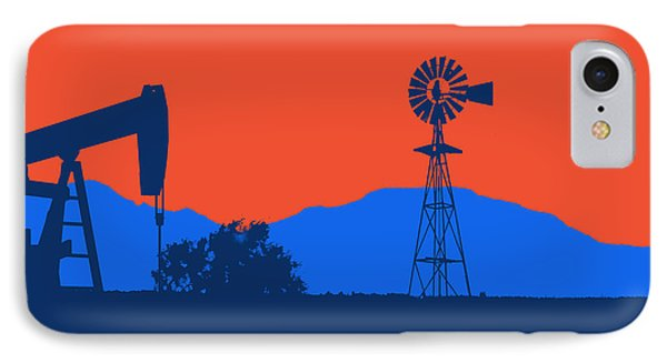 Oklahoma City Thunder IPhone Case by Joe Hamilton