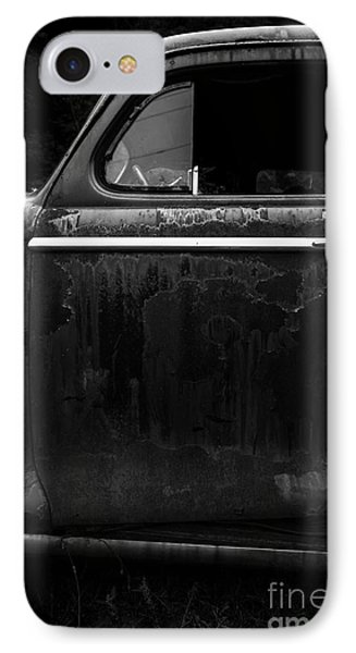 Old Junker Car Open Edition IPhone Case by Edward Fielding