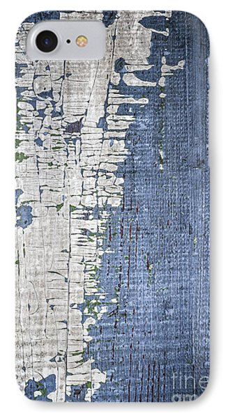 Old Painted Wood Abstract No.4 IPhone Case by Elena Elisseeva