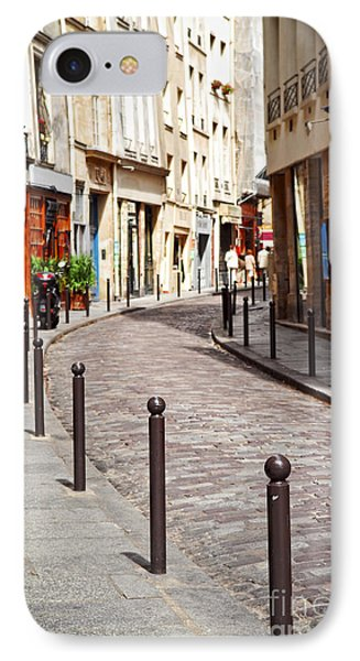 Street iPhone 7 Case - Paris Street by Elena Elisseeva
