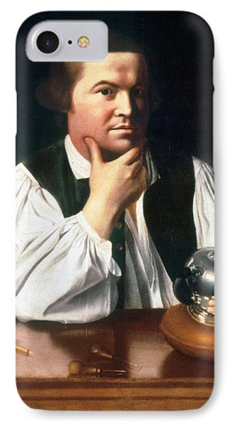 Paul Revere (1735-1818) IPhone Case by Granger