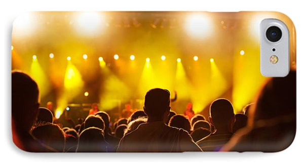 People On Music Concert IPhone Case