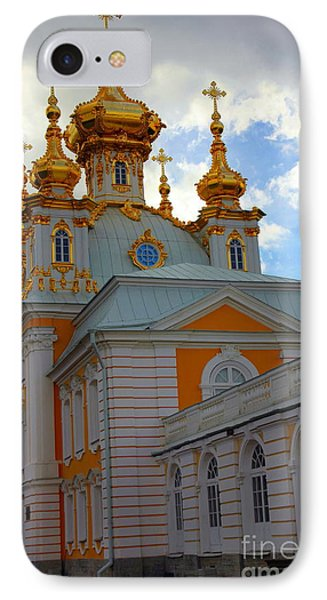 Peterhof Palace Russia Phone Case by Sophie Vigneault