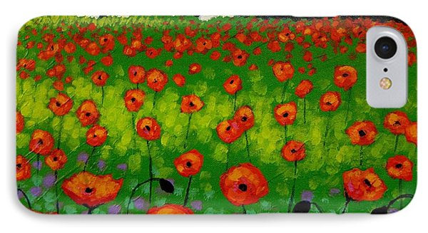 Poppy Field Phone Case by John  Nolan