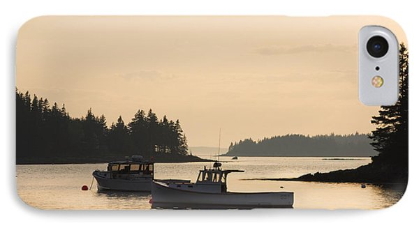 Port Clyde Maine Fishing Boats At Sunset IPhone Case