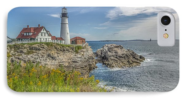 IPhone Case featuring the photograph Portland Headlight by Jane Luxton