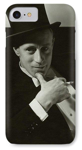 Portrait Of Leslie Howard IPhone Case by Edward Steichen