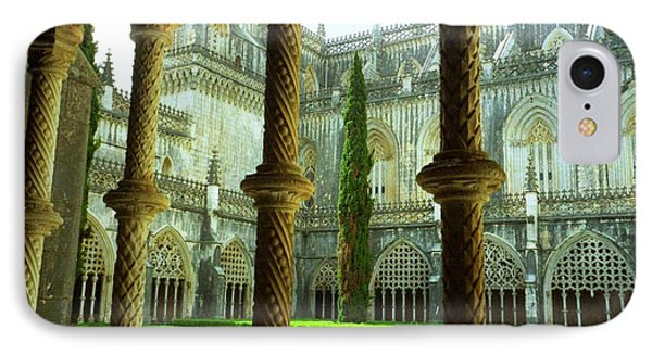 Portugal Church IPhone Case by Ted Pollard