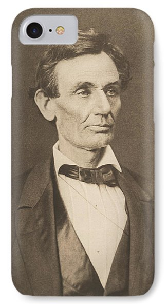 President Abraham Lincoln IPhone Case by War Is Hell Store