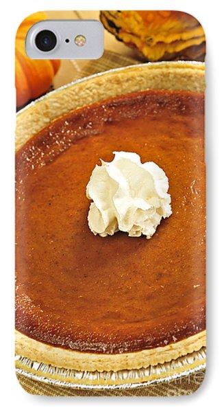 Pumpkin Pie Phone Case by Elena Elisseeva
