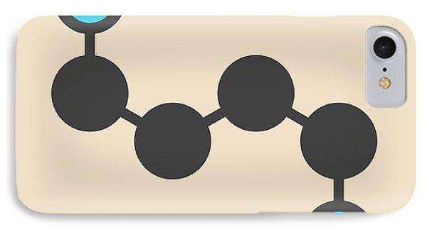 Putrescine Foul Smelling Molecule IPhone Case by Molekuul