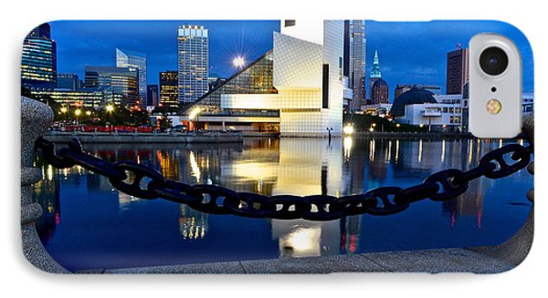 Rock And Roll Hall Of Fame Phone Case by Frozen in Time Fine Art Photography
