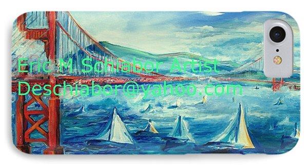 San Francisco Golden Gate Bridge IPhone Case by Eric  Schiabor