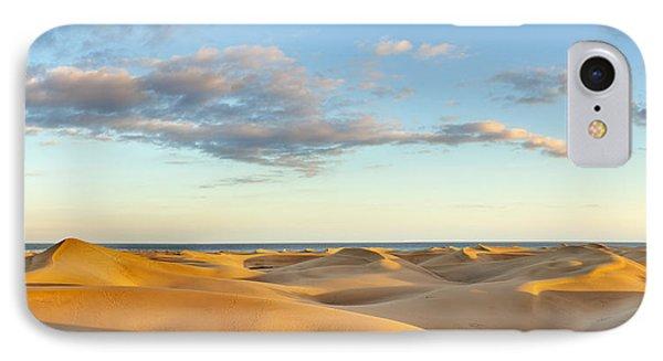Sand Dunes In A Desert, Maspalomas IPhone Case