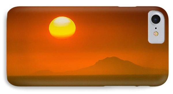 Santorini Sunset Phone Case by Bjoern Kindler