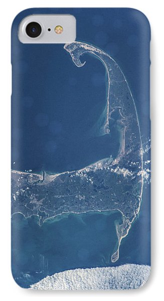 Satellite View Of Cape Cod National IPhone Case