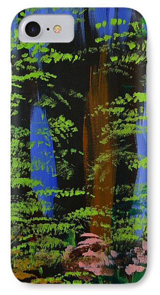 IPhone Case featuring the painting 4 Seasons Spring by P Dwain Morris