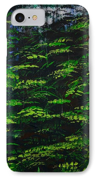 IPhone Case featuring the painting 4 Seasons Summer by P Dwain Morris
