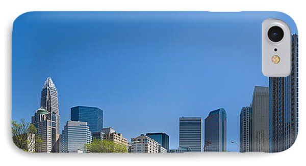 Skyscrapers In A City, Charlotte IPhone Case by Panoramic Images