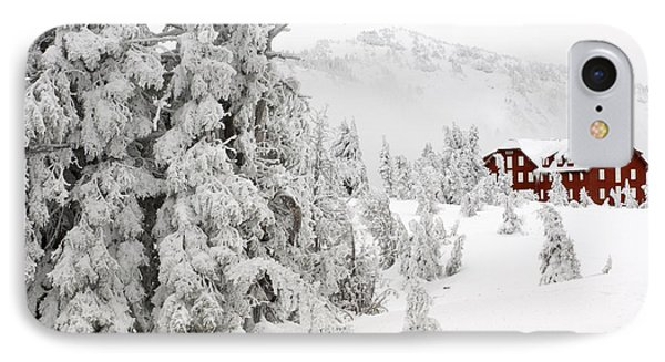 Snow And Ice On Trees Phone Case by John Shaw