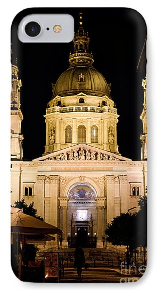 St. Stephen's Basilica In Budapest Phone Case by Michal Bednarek