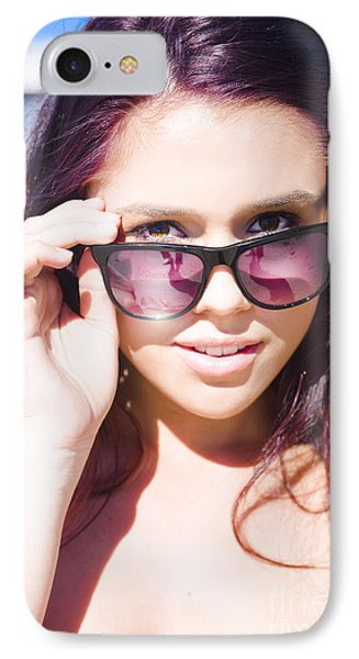 Summer Fashion IPhone Case by Jorgo Photography - Wall Art Gallery