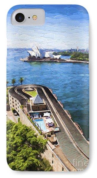 Sydney Harbour IPhone Case by Avalon Fine Art Photography