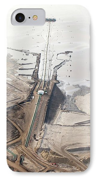 Tailings Pond At Syncrude Mine IPhone Case by Ashley Cooper