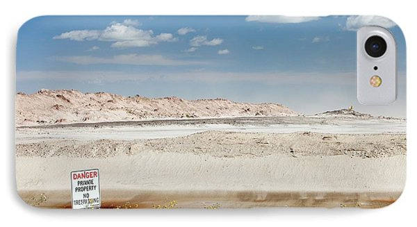 Tailings Pond At The Syncrude Mine IPhone Case by Ashley Cooper