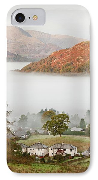 Temperature Inversion Over Ambleside IPhone Case