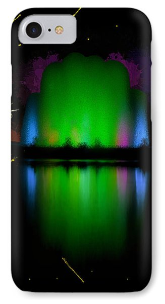 The Electric Fountain IPhone Case by Bruce Nutting