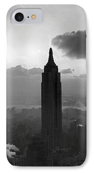 The Empire State Building IPhone Case by Underwood Archives