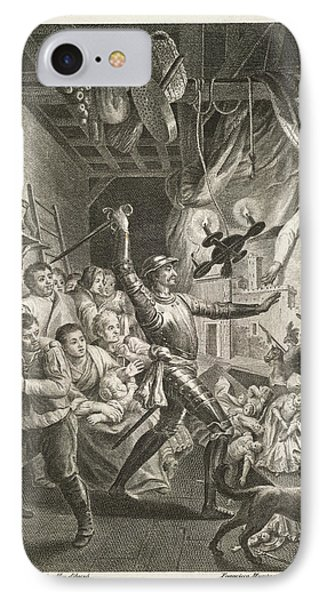 The History Of Don Quixote IPhone Case by British Library
