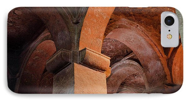The Rock-hewn Churches Of Lalibela IPhone Case by Martin Zwick