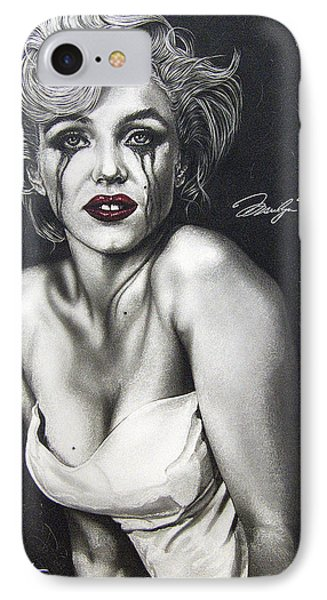 The True Marilyn IPhone Case by Dan Menta