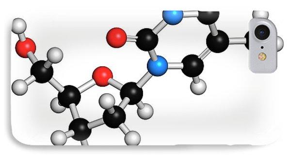 Thymidine Nucleoside Molecule IPhone Case