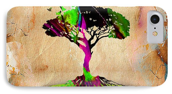 Tree Of Life IPhone Case by Marvin Blaine